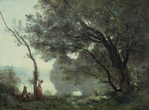 Recollections of Mortefontaine by Jean Baptiste Camille Corot