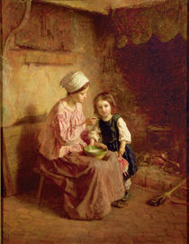 Supper Time by Charles Edouard Frere