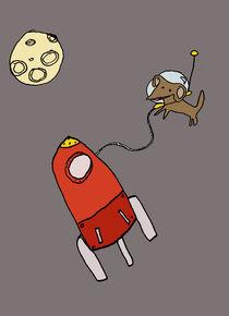 La petite chienne de l'espace by Marine D.