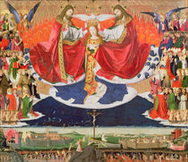 The Coronation of the Virgin von Enguerrand Quarton