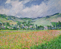 The Poppy Field near Giverny von Claude Monet