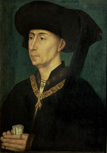 Portrait of Philip the Good Duke of Burgundy von Rogier van der Weyden