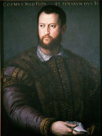 Portrait of Cosimo I de'Medici by Agnolo Bronzino