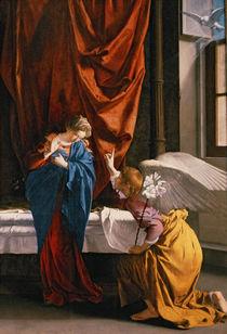 The Annunciation, c.1623 by Orazio Gentileschi