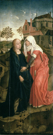 The Visitation von Rogier van der Weyden