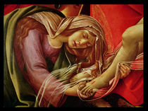 The Lamentation of Christ, detail of Mary Magdalene and the Feet of Christ, c.1490
