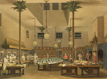 The Great Kitchen, from 'Views of The Royal Pavilion by English School