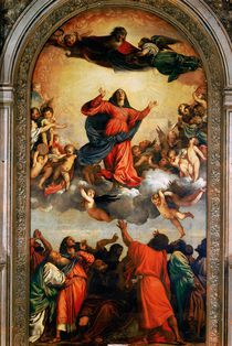 The Assumption of the Virgin by Titian