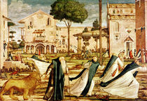 St. Jerome and Lion in the Monastery by Vittore Carpaccio