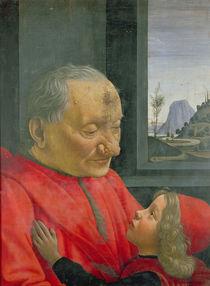 An Old Man and a Boy, 1480s von Domenico Ghirlandaio