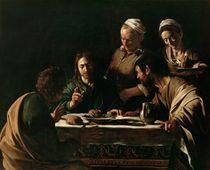 Supper at Emmaus, 1606 by Michelangelo Merisi da Caravaggio