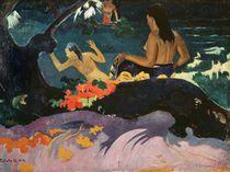 Fatata te Miti 1892 von Paul Gauguin