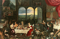 Taste, Hearing and Touch, 1618 by Jan Brueghel the Elder