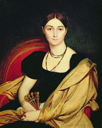 Madame Devaucay, 1807 by Jean Auguste Dominique Ingres