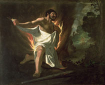Hercules Tearing the Burning Robe by Francisco de Zurbaran