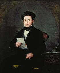 Don Juan Bautista de Muguiro by Francisco Jose de Goya y Lucientes