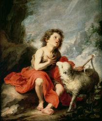 St. John the Baptist as a Child von Bartolome Esteban Murillo