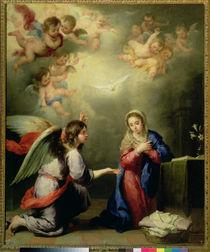 The Annunciation, 17th century von Bartolome Esteban Murillo