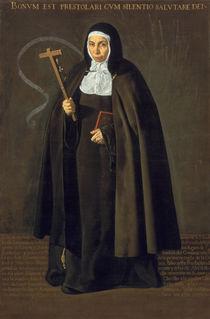Madre Maria Jeronima de la Fuente von Diego Rodriguez de Silva y Velazquez