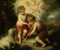 The Boys with the Shell, c.1670 von Bartolome Esteban Murillo
