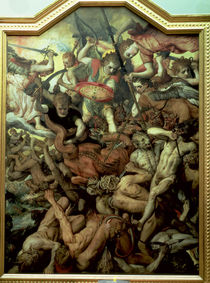 Fall of the Rebel Angels, 1554 by Frans Floris