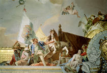 The Glory of Spain I, from the Ceiling of the Throne Room by Giovanni Battista Tiepolo