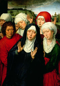 The Holy Women, right hand panel of the Deposition Diptych by Hans Memling