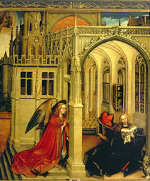 The Annunciation by Master of Flemalle