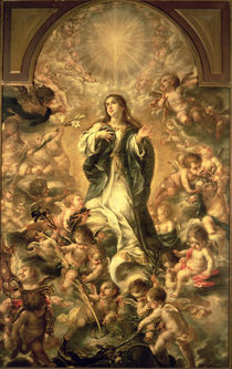 Immaculate Conception, 1670-1672 by Juan de Valdes Leal