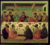 The Last Supper, from the Passion Altarpiece by Duccio di Buoninsegna