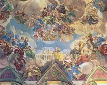 Triumph of the Hapsburgs by Luca Giordano