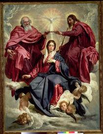Coronation of the Virgin, c.1641-42 by Diego Rodriguez de Silva y Velazquez