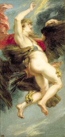 The Rape of Ganymede, c.1636-38 von Peter Paul Rubens