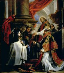 Communion of St. Teresa of Avila c.1670 von Claudio Coello