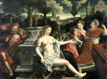 Susanna and the Elders, 1567 von Jan Massys or Metsys