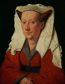 Portrait of Margaret van Eyck von Jan van Eyck