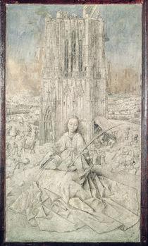 St. Barbara, 1437 von Jan van Eyck