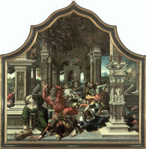 The Destruction of the House of Job von Bernard van Orley