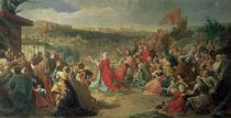 The Fall of Granada in 1492 by Carlos Luis Ribera y Fieve