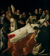 The Exhibition of the Body of St. Bonaventure after 1627 von Francisco de Zurbaran