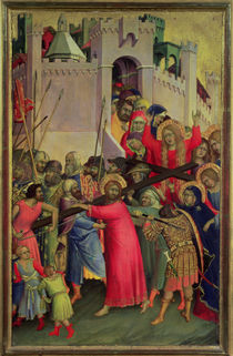 Road to Calvary von Simone Martini