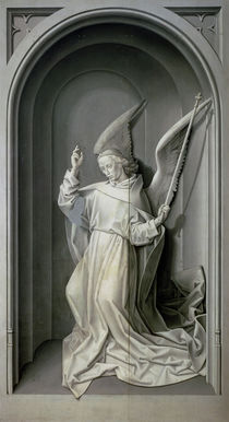 The Angel of the Annunciation von Hugo van der Goes