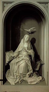 The Virgin of the Annunciation von Hugo van der Goes
