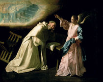 Vision of St. Peter Nolasco by Francisco de Zurbaran