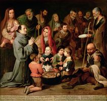 St. Diego of Alcala Giving Food to the Poor by Bartolome Esteban Murillo