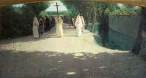 The Procession, 1892-95 by Giuseppe Pellizza da Volpedo