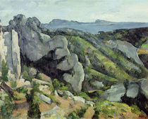 Rocks at L'Estaque, 1879-82 von Paul Cezanne