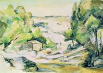 Countryside in Provence by Paul Cezanne