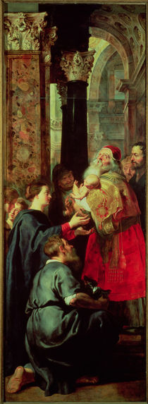 Presentation in the Temple von Peter Paul Rubens