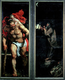 St. Christopher and the Hermit von Peter Paul Rubens